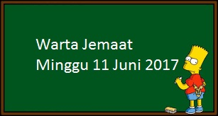Download Warta Jemaat, Minggu 11 Juni 2017
