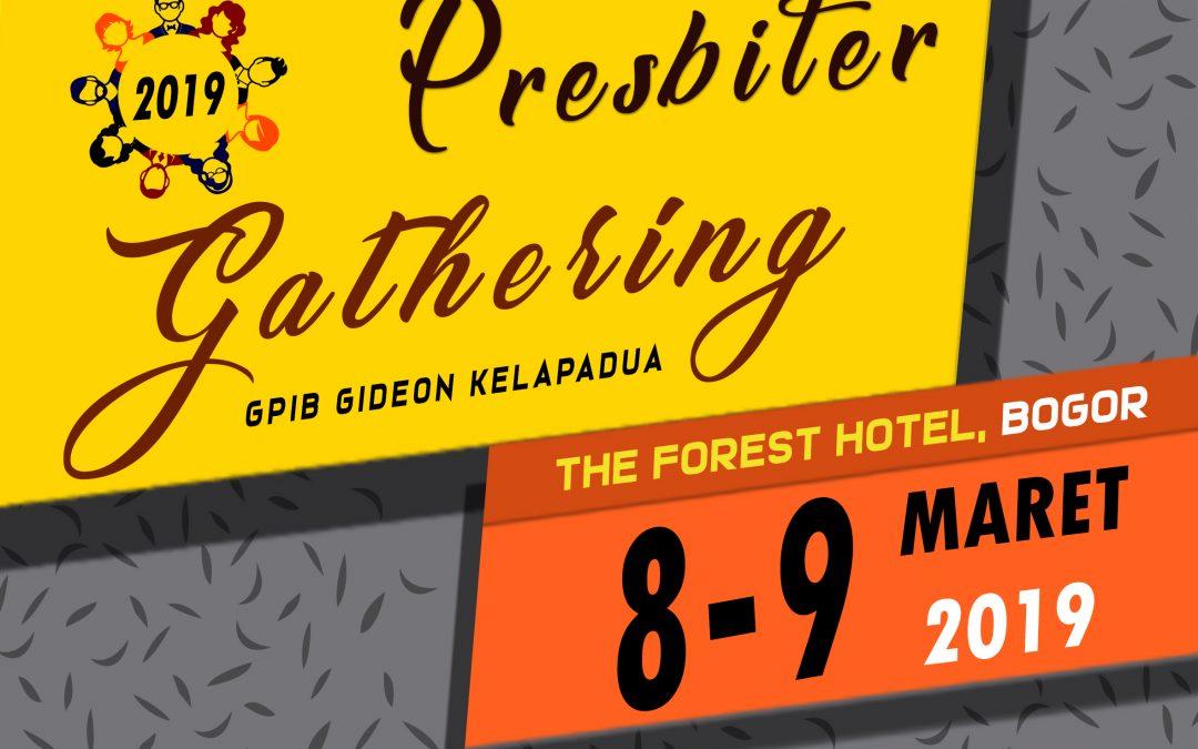 PRESBITER GATHERING GPIB GIDEON TAHUN 2019